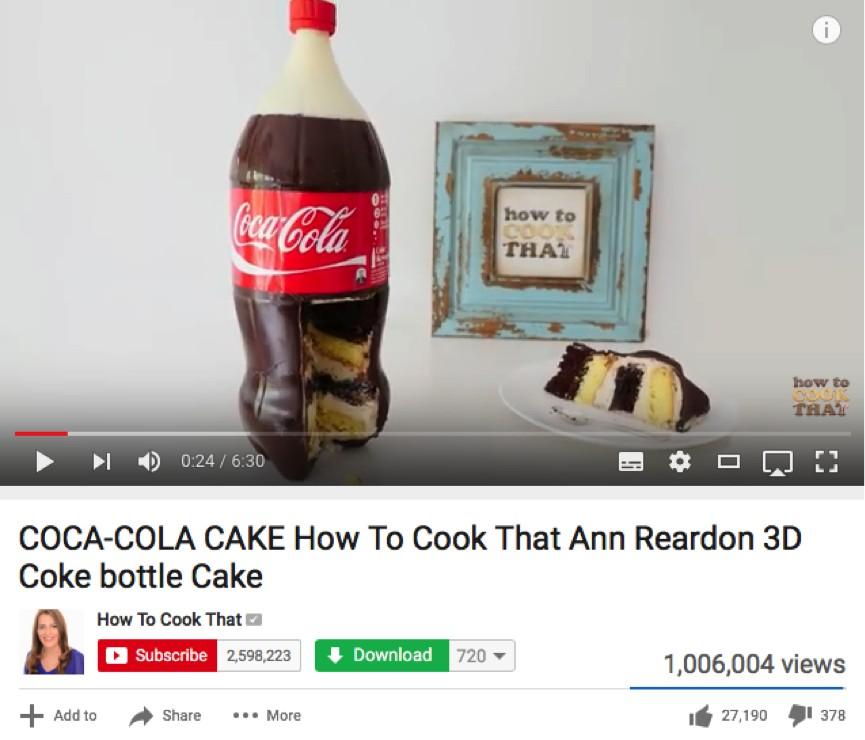 cokechococake